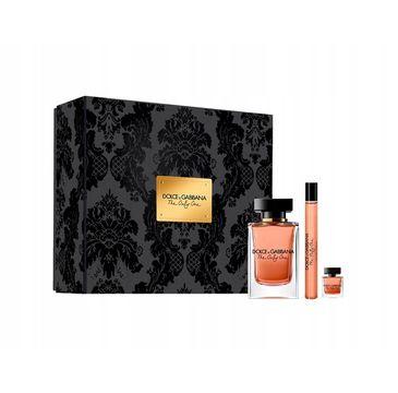 Dolce & Gabbana – The Only One zestaw woda perfumowana spray 100ml + woda perfumowana 10ml + miniatura wody perfumowanej 7.5ml (1 szt.)
