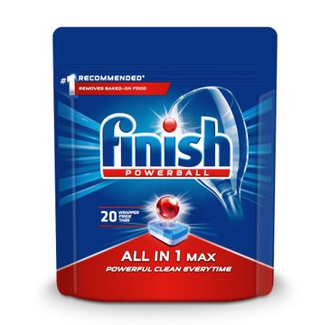 Finish All in 1 Max - tabletki do zmywarki 20 sztuk