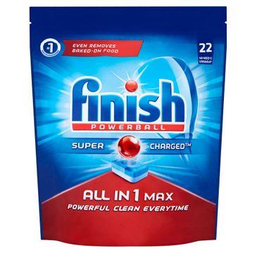 Finish All In 1 Max tabletki do zmywarki 22 sztuk regularne