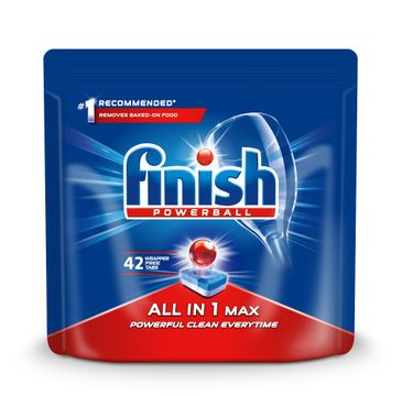 Finish All in 1 Max - tabletki do zmywarki 42 sztuk