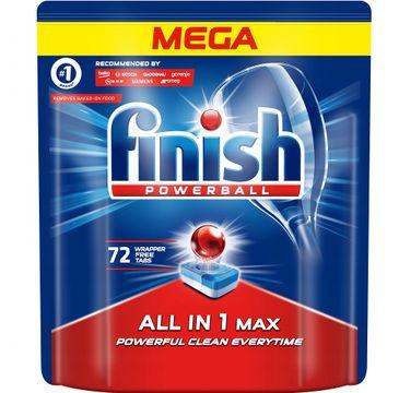 Finish All in 1 Max tabletki do zmywarki regularne (72 szt.)