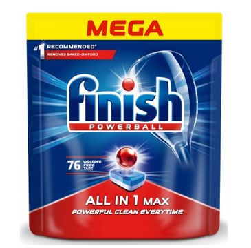 Finish All in 1 Max tabletki do zmywarki 76 sztuk regularne