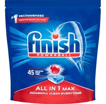 Finish All In 1 Max tabletki do zmywarki regularne 45szt