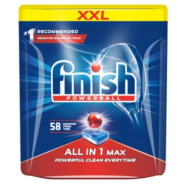 Finish All In 1 Max tabletki do zmywarki regularne 58szt