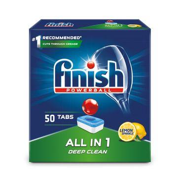Finish All in 1 tabletki do zmywarki 50 sztuk cytrynowe