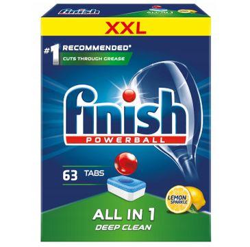 Finish All in 1 tabletki do zmywarki 63 sztuk cytrynowe