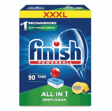 Finish All in 1 tabletki do zmywarki 90 sztuk cytrynowe