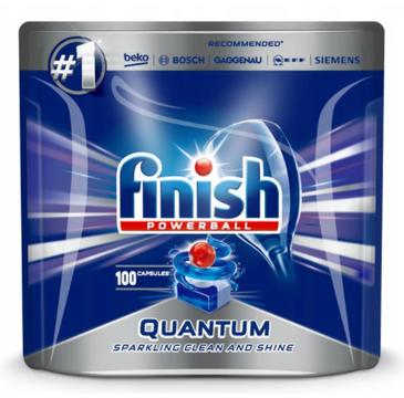 Finish Kapsułki Quantum tabletki do zmywarki 100 sztuk regularne