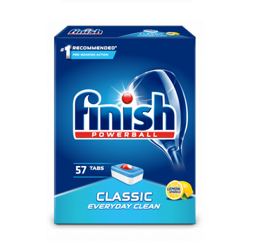 Finish Powerball Classic tabletki do zmywarki Lemon 57szt