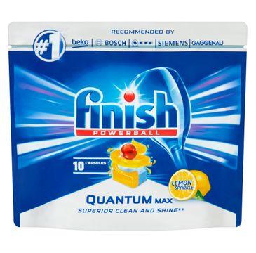Finish Quantum Max kapsułki do zmywarki 10 sztuk cytrynowe