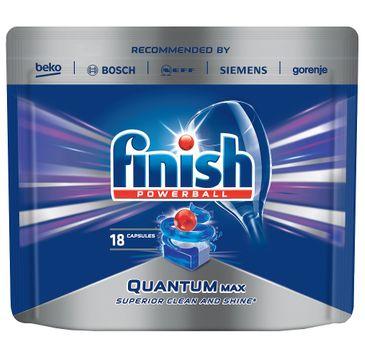 Finish Quantum Max kapsułki do zmywarki 18 sztuk regularne