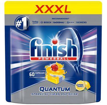Finish Quantum Max kapsułki do zmywarki cytrynowe (60 szt.)