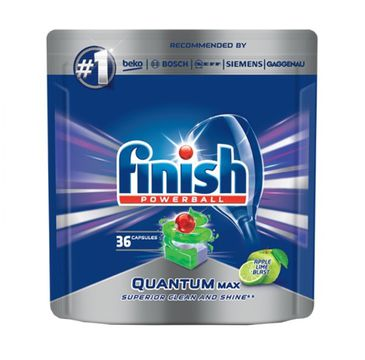 Finish Quantum Max tabletki do zmywania 36 sztuk jabłkowo-limonkowe