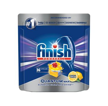 Finish Quantum Max tabletki do zmywarki 36 sztuk cytrynowe
