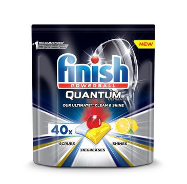 Finish Quantum Ultimate kapsułki do zmywarki 40szt Lemon