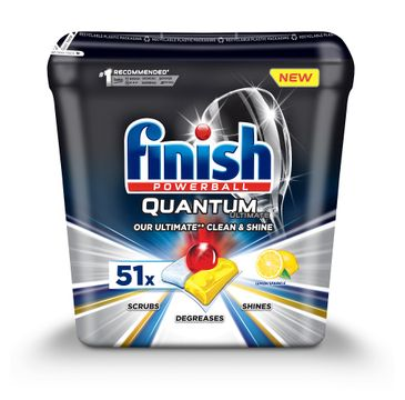 Finish Quantum Ultimate kapsułki do zmywarki 51szt Lemon