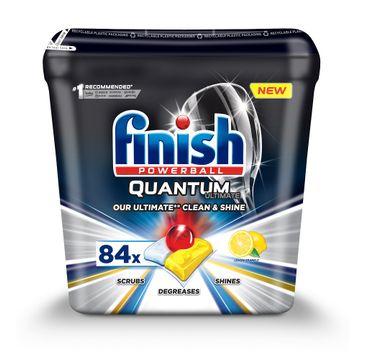 Finish Quantum Ultimate kapsułki do zmywarki 84szt Lemon