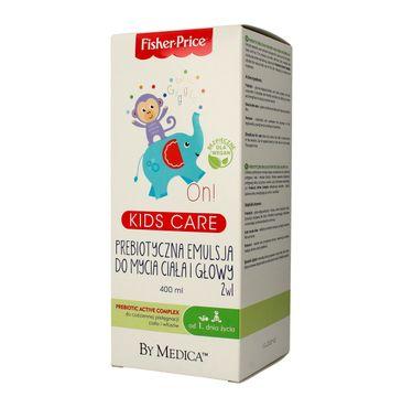 Fisher-Price Kids Care prebiotyczna emulsja do mycia ciała i głowy 2w1 400 ml