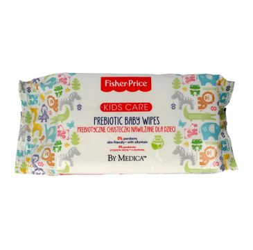 Fisher-Price Kids Care prebiotyczne nawilżane chusteczki dla dzieci 1 op. - 72 szt.