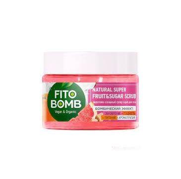 Fito Bomb Scrub do ciała Cukrowo-Owocowy odżywczy (250 ml)