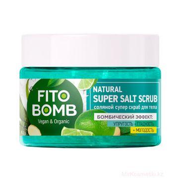 Fito Bomb Scrub do ciała solny ujędrnienie (250 ml)
