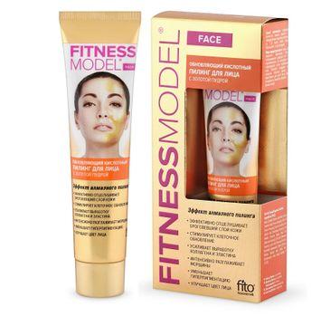 Fito Cosmetics Fitness Model regenerujący kwasowy peeling do twarzy ze złotym pudrem (45 ml)