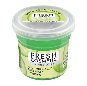 Fito Cosmetics Fresh Cosmetic + Prebiotics Hydrating Cucumber-Aloe Face Mask nawilżająca maska do twarzy z ogórkiem i aloesem (50 ml)