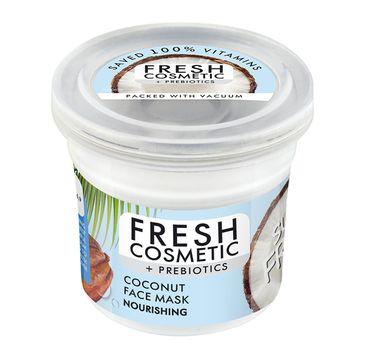 Fito Cosmetics Fresh Cosmetic + Prebiotics Nourishing Coconut Face Mask odmładzająco-odżywcza kokosowa maska do twarzy (50 ml)