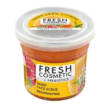 Fito Cosmetics Fresh Cosmetic + Prebiotics Rejuvenating Berry Face Scrub odmładzający jagodowy peeling do twarzy (50 ml)