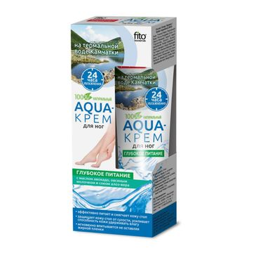 Fitokosmetik Aqua krem do stóp głębokie odżywianie 45 ml