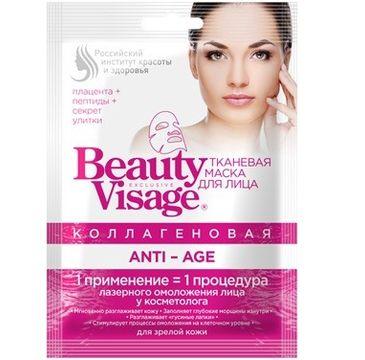 Fitokosmetik Beauty Visage maseczka na tkaninie Anti-Age 25 ml