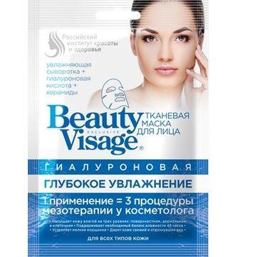 Fitokosmetik Beauty Visage maseczka na tkaninie Hialuronowa 25 ml