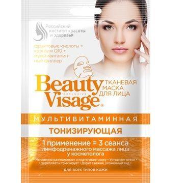 Fitokosmetik Beauty Visage maseczka na tkaninie multiwitaminowa 25 ml