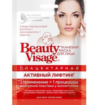 Fitokosmetik Beauty Visage maseczka na tkaninie placentowa 25 ml
