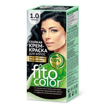 Fitokosmetik Fitocolor farba krem do włosów nr 1.0 czarna (80 ml)