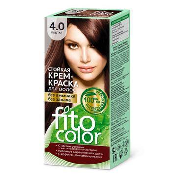 Fitokosmetik Fitocolor farba - krem do włosów nr 4.0 kasztan 80 ml