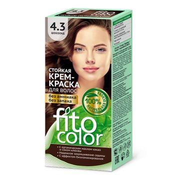 Fitokosmetik Fitocolor farba - krem do włosów nr 4.3 czekolada 80 ml