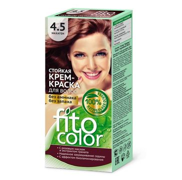 Fitokosmetik Fitocolor farba - krem do włosów nr 4.5 mahoń 80 ml