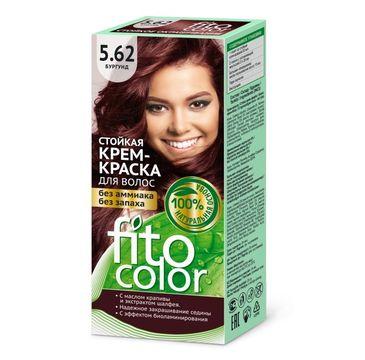 Fitokosmetik Fitocolor farba - krem do włosów nr 5.62 burgund 80 ml