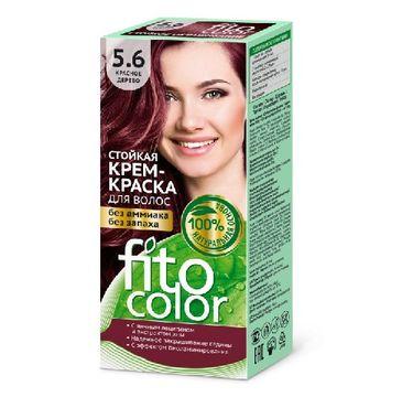 Fitokosmetik Fitocolor farba krem do włosów nr 5.6 drzewo czerwone (80 ml)