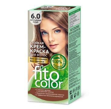 Fitokosmetik Fitocolor farba - krem do włosów nr 6.0 naturalny jasny brąz 80 ml