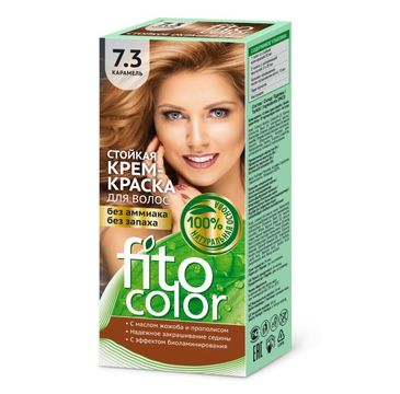 Fitokosmetik Fitocolor farba - krem do włosów nr 7.3 karmel 80 ml