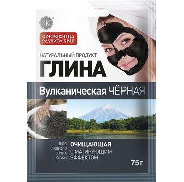 Fitokosmetik  Glinka czarna wulkaniczna - oczyszczająca 75 g