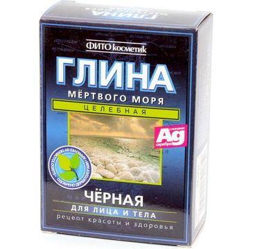 Fitokosmetik Glinka czarna z Morza Martwego do twarzy i ciała 100 g