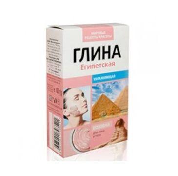 Fitokosmetik glinka do ciała i twarzy różowa egipska nawilżająca 100 g