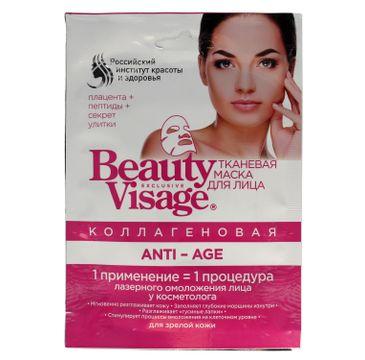 Fitokosmetik Beauty Visage maseczka na tkaninie Anti-Age (25 ml)