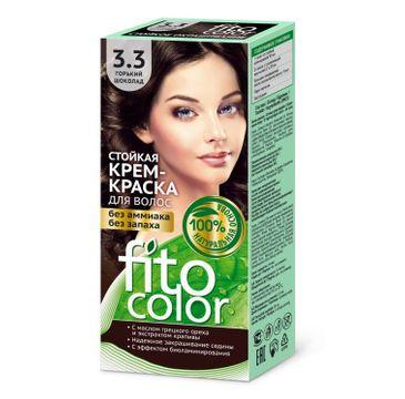Fitokosmetik Fitocolor farba krem do włosów nr 3.3 gorzka czekolada (80 ml)