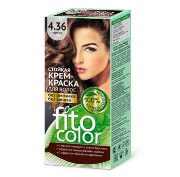 Fitokosmetik Fitocolor farba krem do włosów nr 4.36 mokka (80 ml)