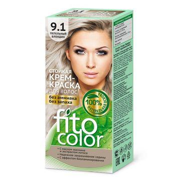 Fitokosmetik Fitocolor farba - krem do włosów nr 9.1 blond popielaty 80 ml