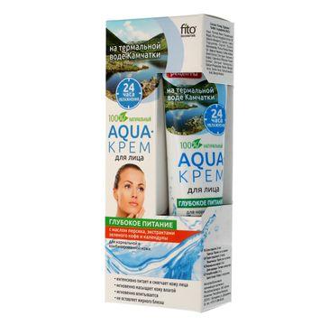 Fitokosmetik głębokie odżywianie aqua-krem do każdego rodzaju cery odżywiający (45 ml)